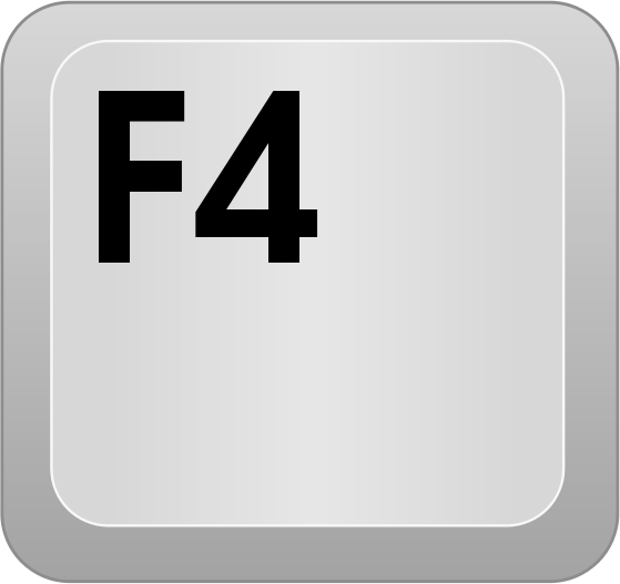 Productivity Tip F4 Is My Friend Sector Learning Solutions