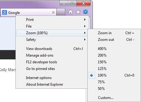 IE-zoom-menu