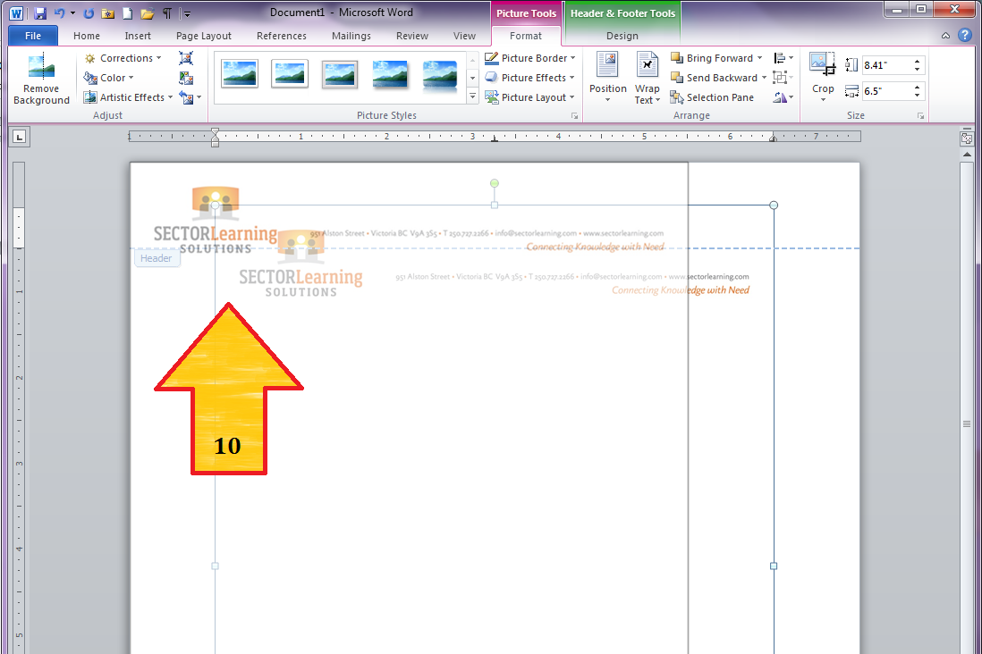 how to create a letterhead in microsoft word 2016 2013 or 2010